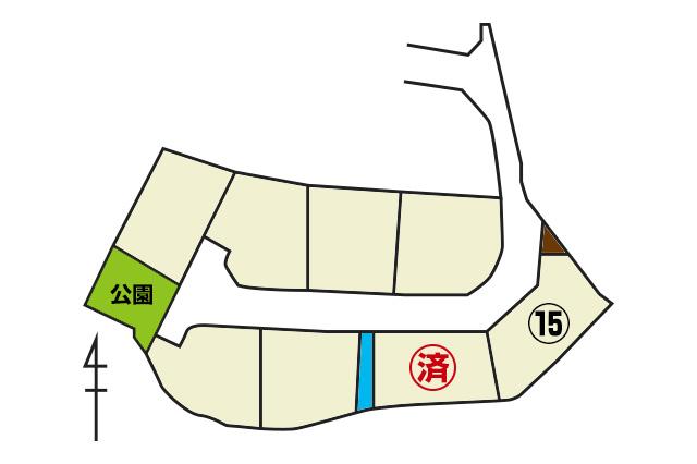 山口市大内矢田北1丁目⑮号地