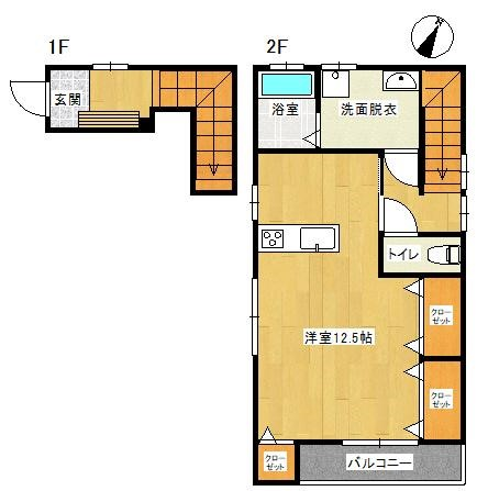 新築アパート!!2021年9月末入居可能予定!!ワンルーム・1所帯のみの一戸建て感覚